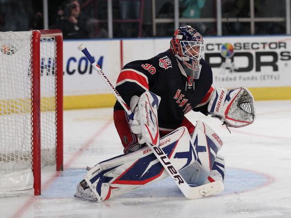 New York Ranger goaltender Henrik Lundqvist