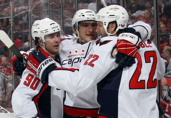The Washington Capitals will be celebrating a series victory over the New York Rangers