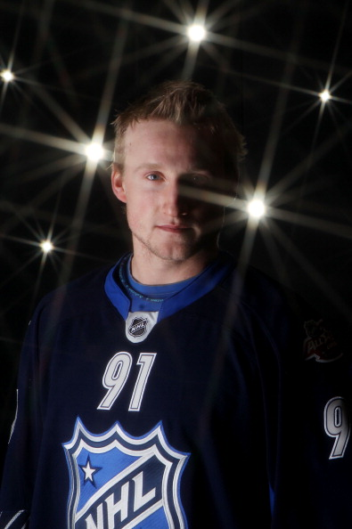 RALEIGH, NC - JANUARY 30:  Steven Stamkos #91 of the Tampa Bay Lightning poses for a portrait before the 58th NHL All-Star Game at RBC Center on January 30, 2011 in Raleigh, North Carolina.  (Photo by Bruce Bennett/Getty Images)