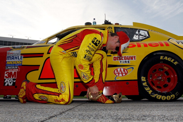 FORT WORTH, TX - APRIL 09:  Kurt Busch, driver of the #22 Shell/Pennzoil Dodge, prepares to drive in the NASCAR Sprint Cup Series Samsung Mobile 500 at Texas Motor Speedway on April 9, 2011 in Fort Worth, Texas.  (Photo by Jason Smith/Getty Images for NAS