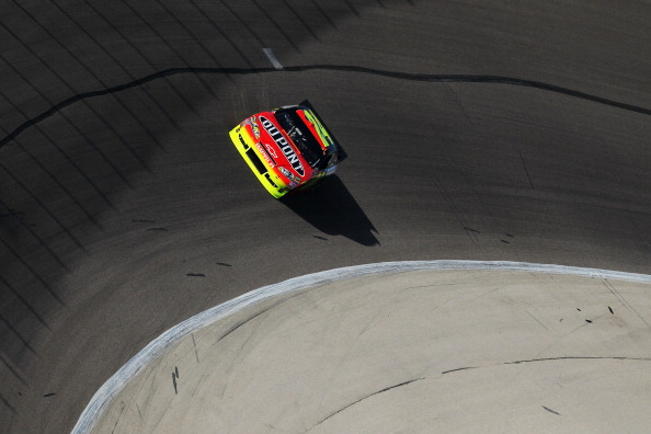 FORT WORTH, TX - APRIL 08:  Jeff Gordon, driver of the #24 DuPont Chevrolet, qualifies for the NASCAR Sprint Cup Series Samsung Mobile 500 at Texas Motor Speedway on April 8, 2011 in Fort Worth, Texas.  (Photo by Jonathan Ferrey/Getty Images for NASCAR)