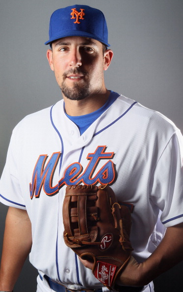 PORT ST. LUCIE, FL - FEBRUARY 24:  RY 24:  RY 24:  Zach Lutz #65 of the New York Mets poses for a portrait during the New York Mets Photo Day on February 24, 2011 at Digital Domain Park in Port St. Lucie, Florida.  (Photo by Elsa/Getty Images)