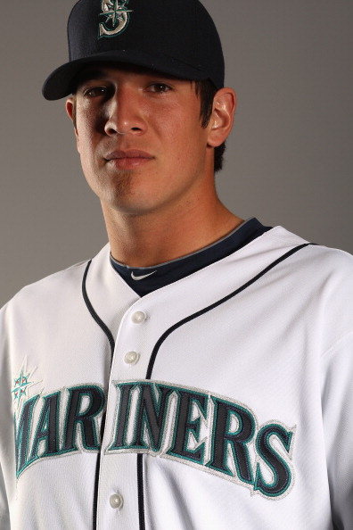 PEORIA, AZ - FEBRUARY 20:  Dan Cortes #57 of the Seattle Mariners poses for a portrait at the Peoria Sports Complex on February 20, 2011 in Peoria, Arizona.  (Photo by Ezra Shaw/Getty Images)