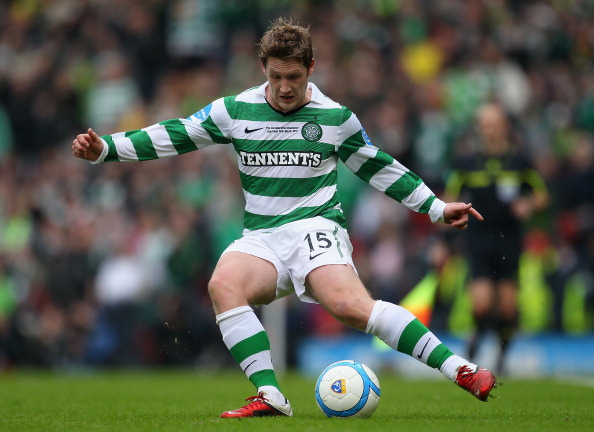 GLASGOW, SCOTLAND - MARCH 20:  Kris Commons of Celtic in action during the Co-operative Insurance Cup final between Celtic and Rangers at Hampden Park on March 20, 2011 in Glasgow, Scotland.  (Photo by Julian Finney/Getty Images)
