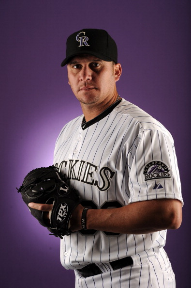 SCOTTSDALE, AZ - FEBRUARY 24:  Rafael Betancourt #63 of the Colorado Rockies poses for a portrait during photo day at the Salt River Fields at Talking Stick on February 24, 2011 in Scottsdale, Arizona.  (Photo by Harry How/Getty Images)