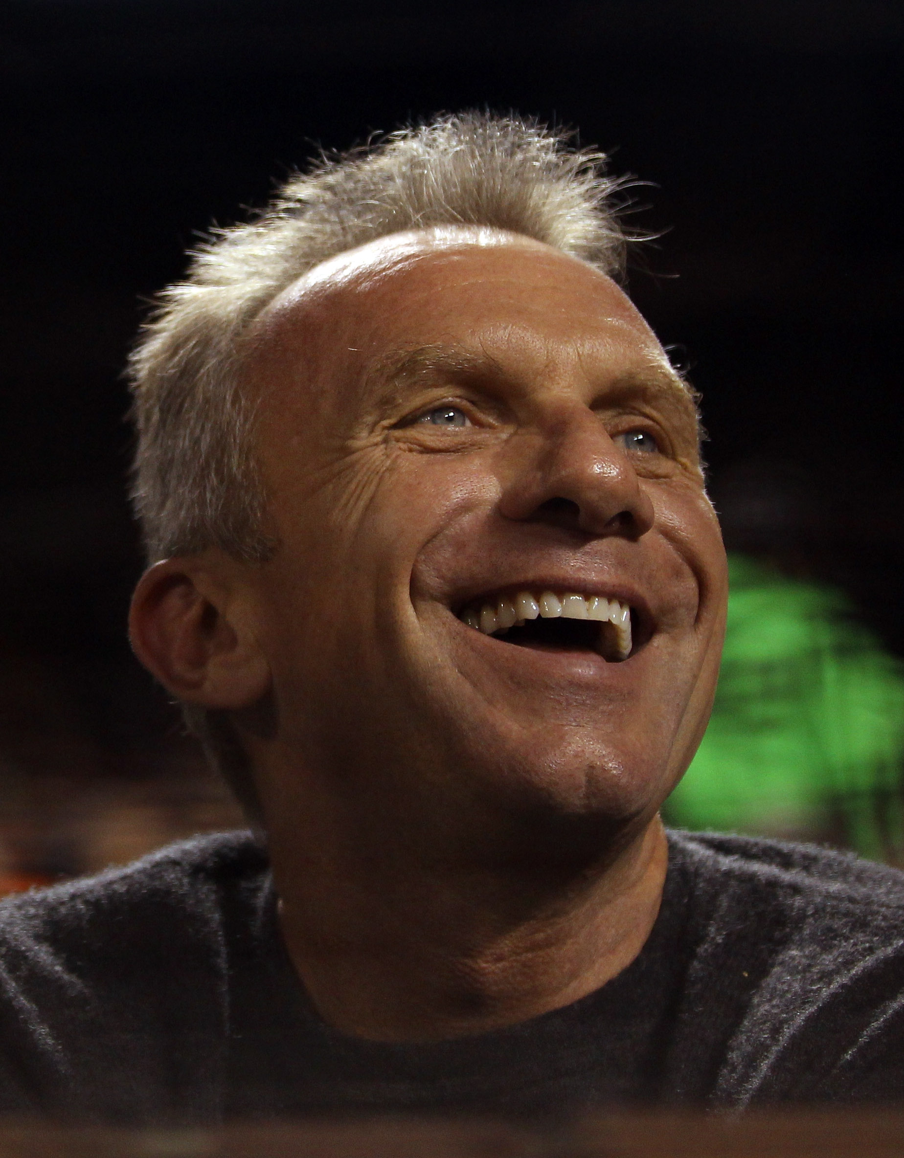 SAN FRANCISCO - SEPTEMBER 15:  Joe Montana watches the Los Angeles Dodgers play the San Francisco Giants at AT&T Park on September 15, 2010 in San Francisco, California.  (Photo by Ezra Shaw/Getty Images)