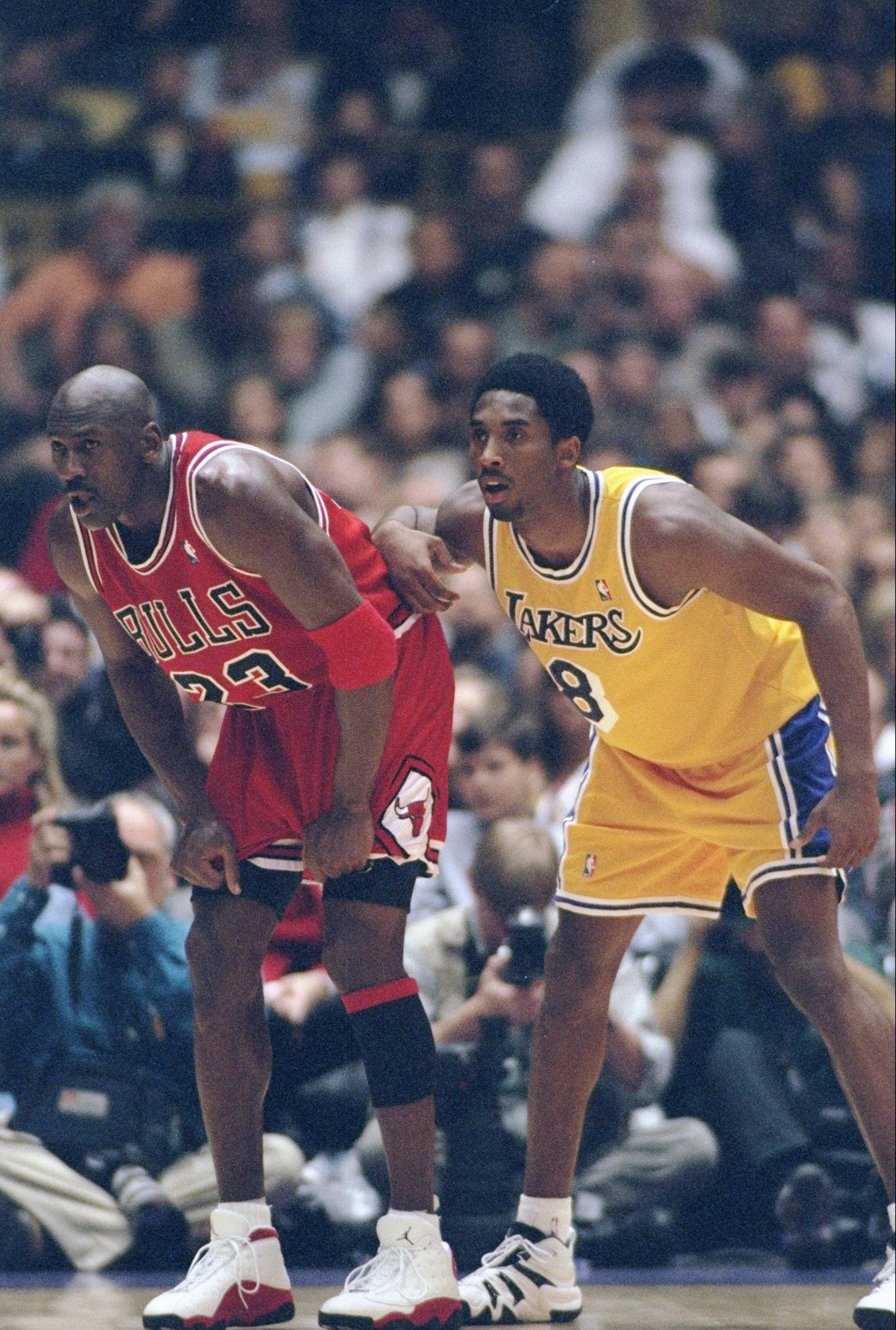 c71a50e041 Kobe Bryant: Comparing His Accolades to Michael Jordan's   Bleacher ...