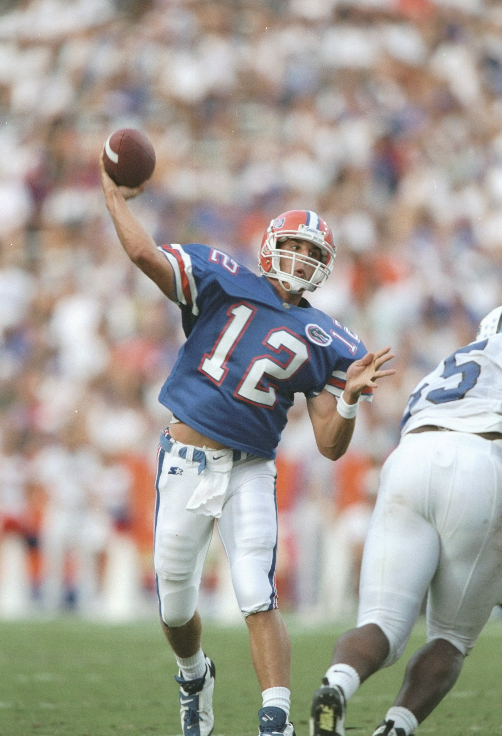 Two-sport standout Doug Johnson quarterbacked UF in the late 1990s.