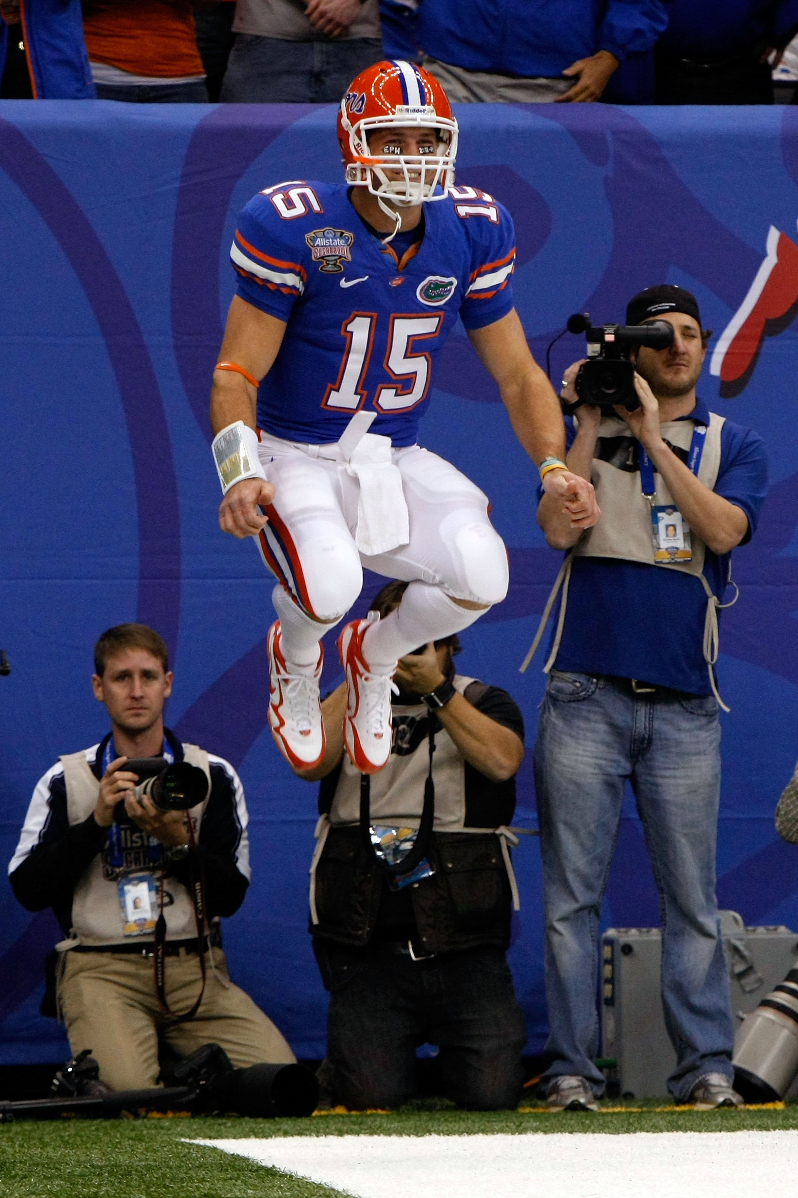 Tim Tebow often rose above the competition.