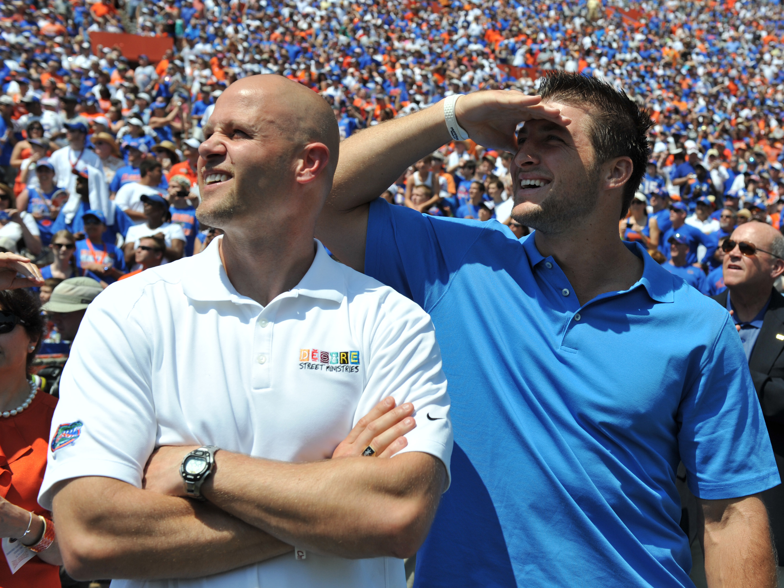 It can't be seen any other way: one of these two is UF's all-time greatest quarterback.