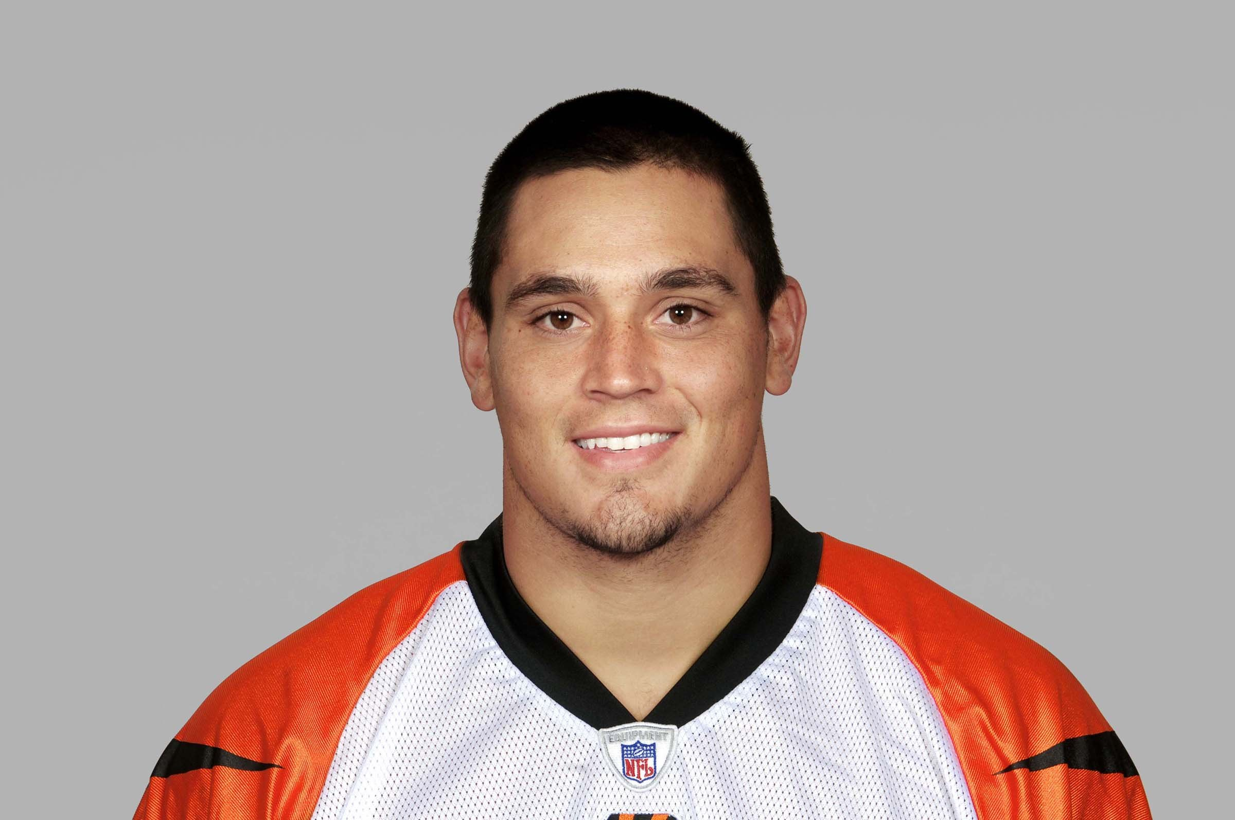 CINCINNATI - 2007:  David Pollack of the Cincinnati Bengals poses for his 2007 NFL headshot at photo day in Cincinnati, Ohio.  (Photo by Getty Images)