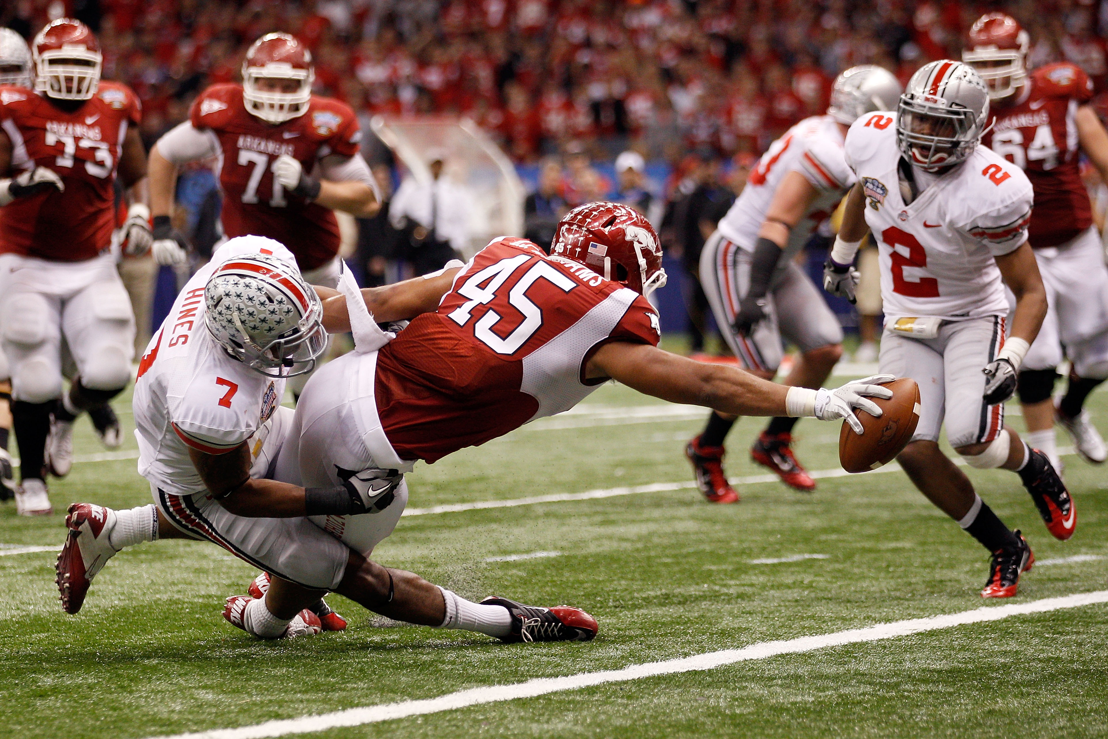 The unheralded, potential key to a powerful run offense in 2011 and beyond?