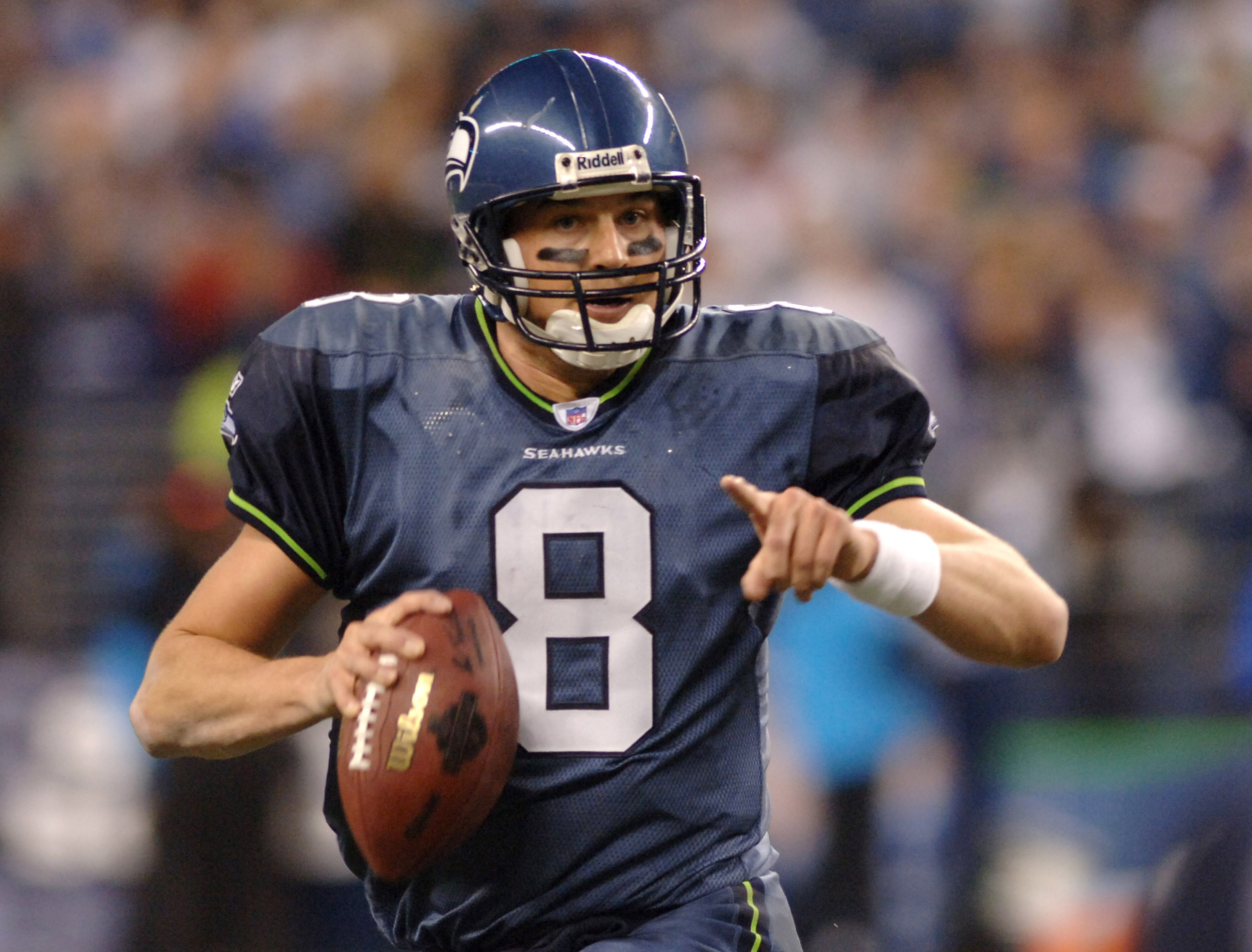 Matt Hasselbeck, 2006 NFC Championship Game. Is this officially an image of the past?