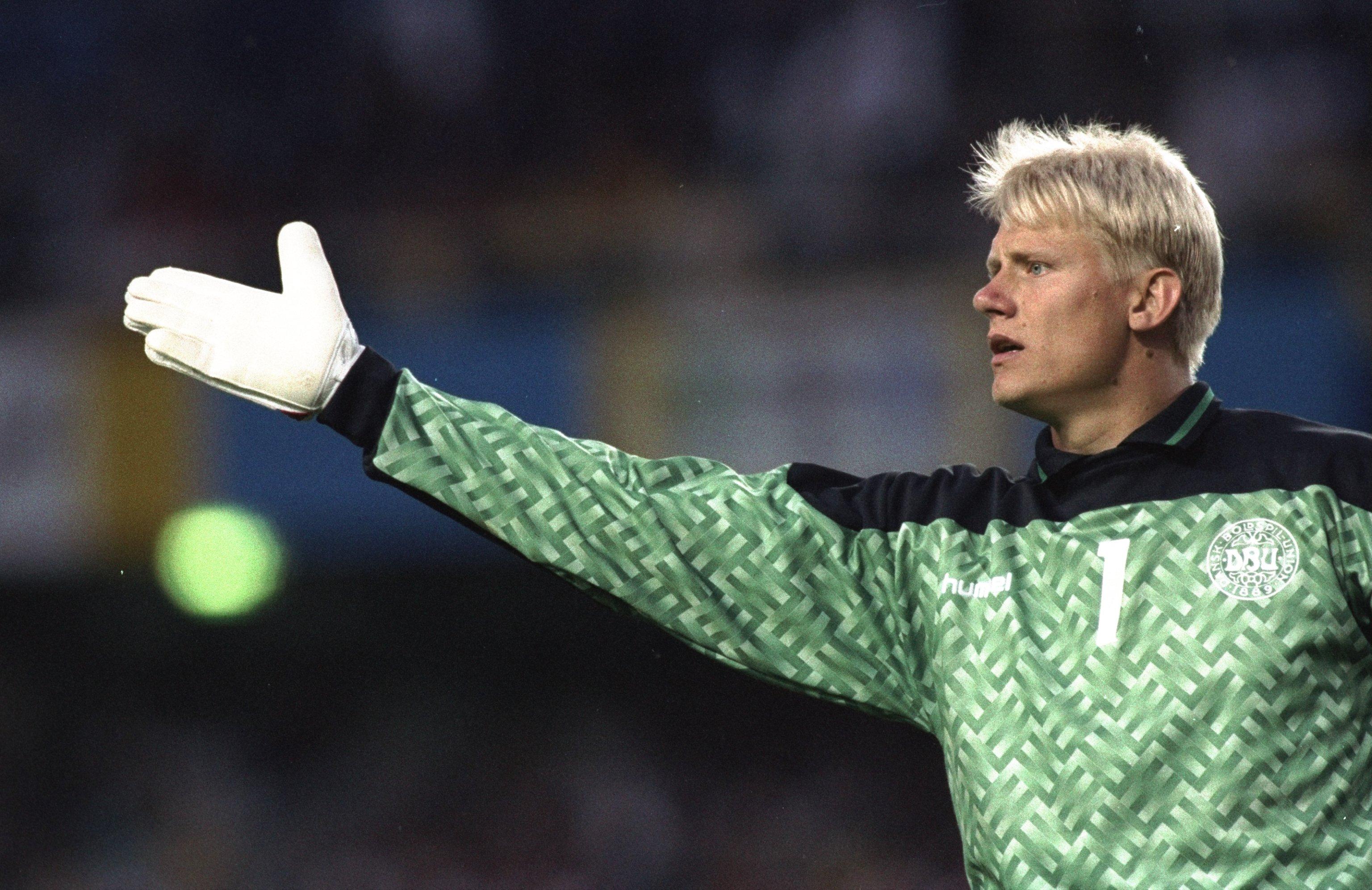 Peter Schmeichel had a big hand in Denmark's Euro '92 triumph