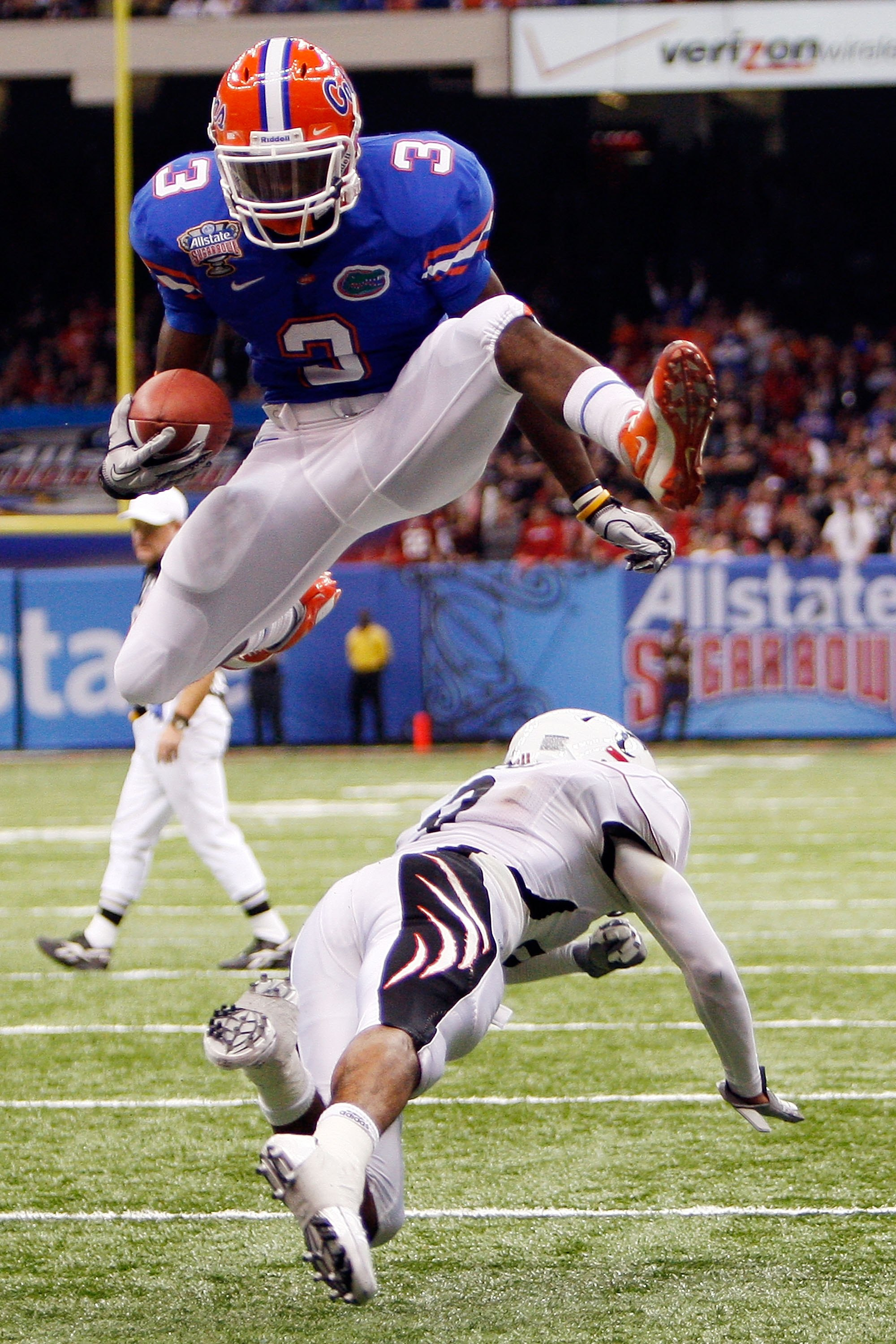 Chris Rainey hopes to take the Gators up and over the opposition in 2011.