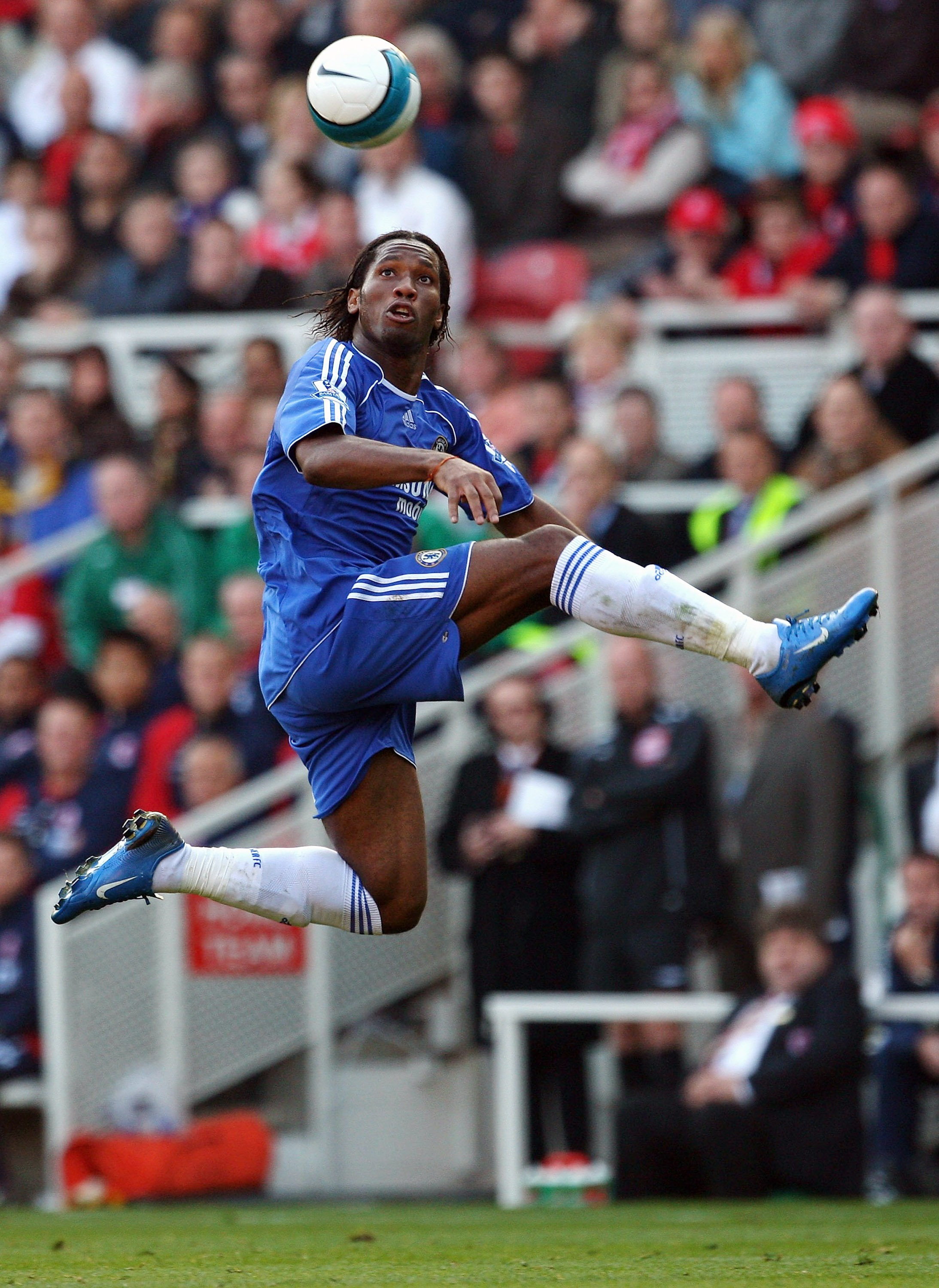 Didier Drogba has been a constant menace up-front for Chelsea