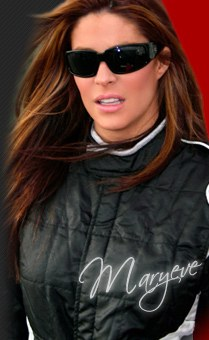 Maryeve Dufault - Talent, looks and determination might get her where she wants to go. (Courtesy Dufault Website)