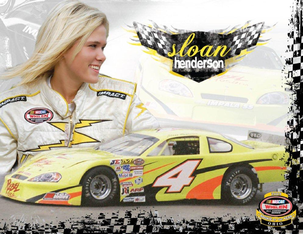 Sloan Henderson has won in most every car she's raced in. (Courtesy Henderson Website)