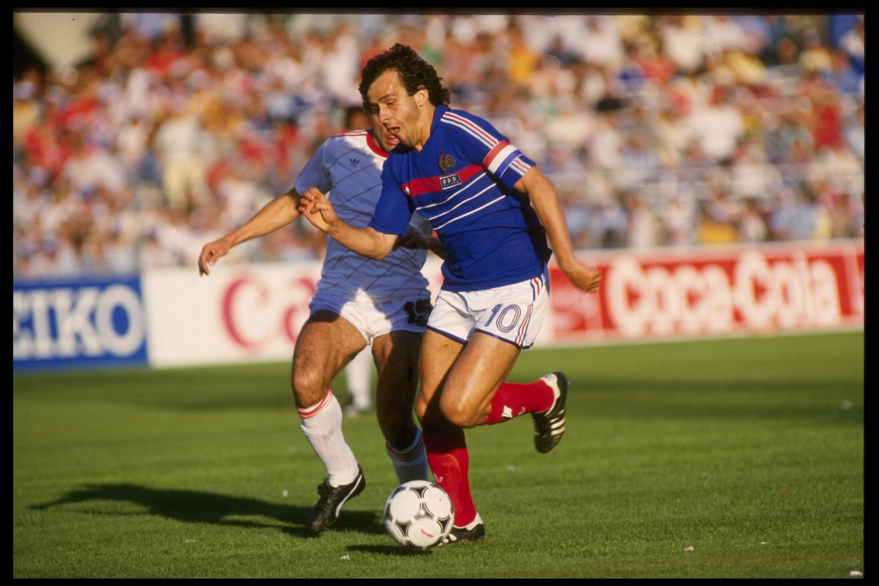 One of Europe's finest ever footballers, Michel Platini