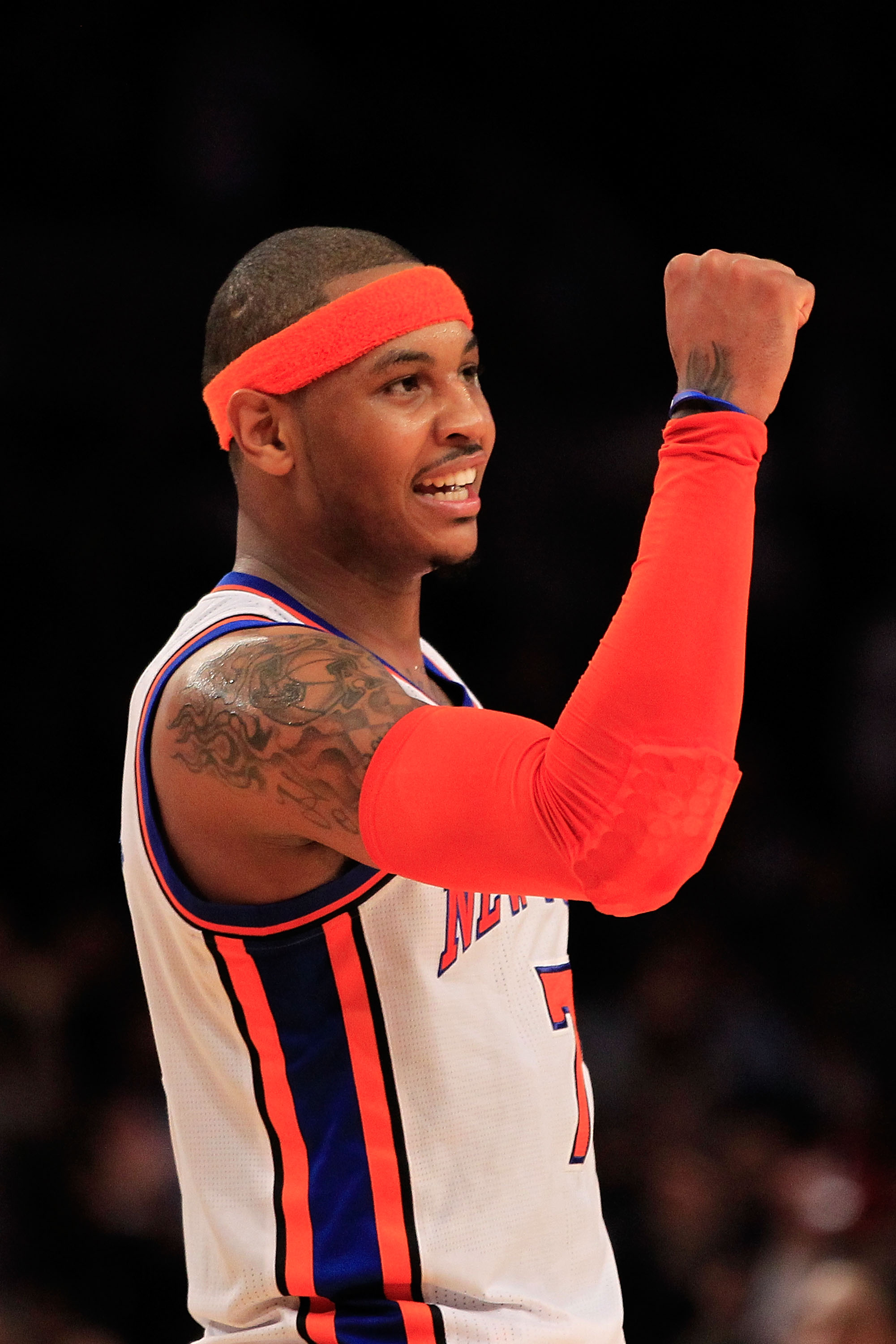Melo will have reason to smile soon