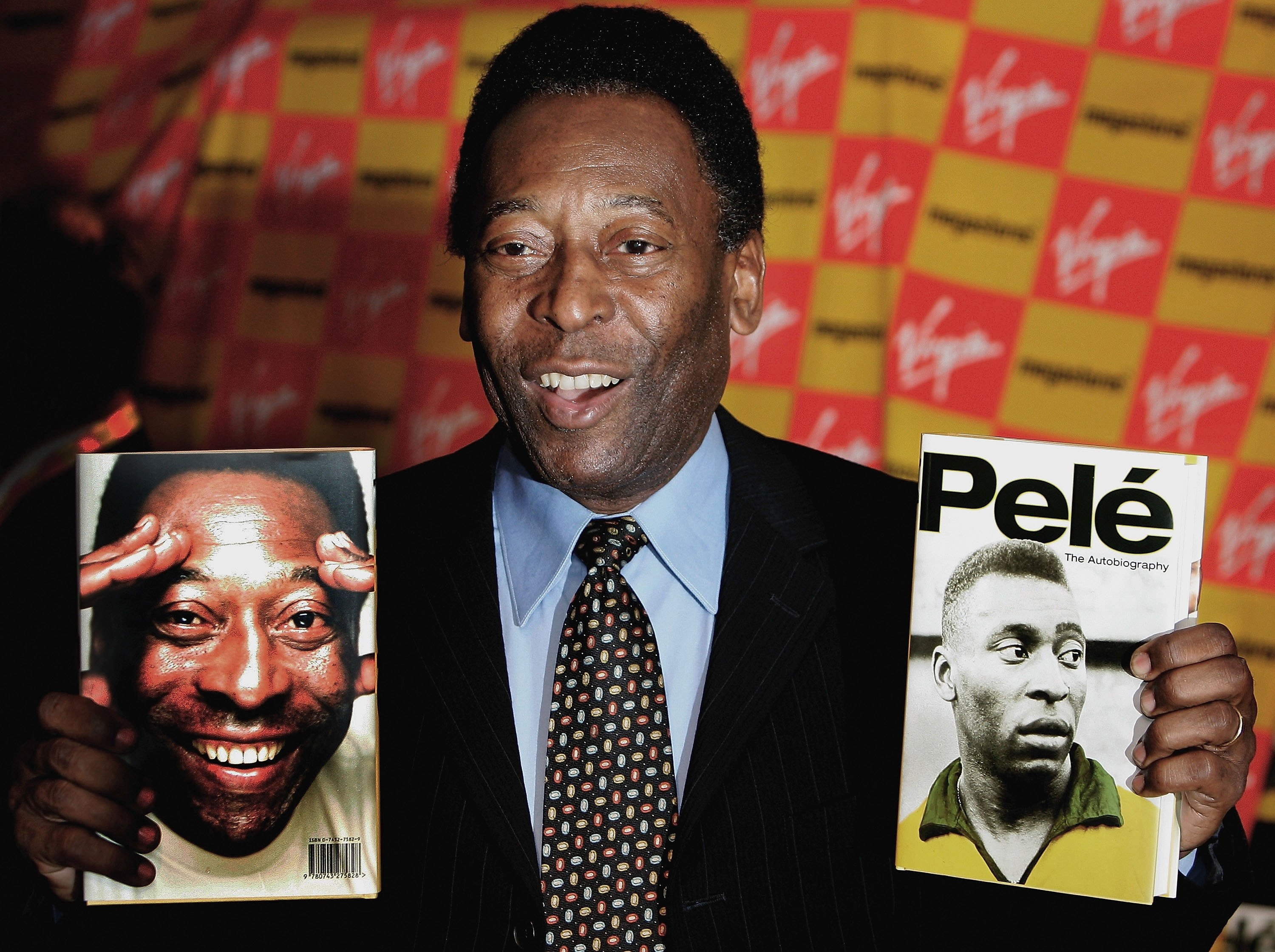 Pelé is today the world's most famous footballer