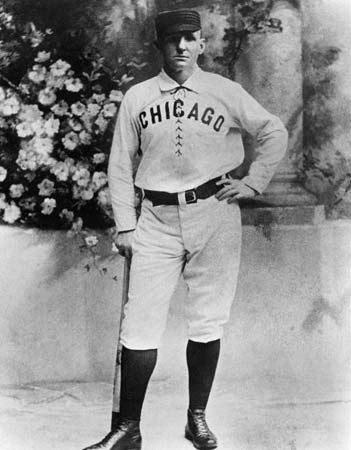 Anson was one of the premiere players during the early days of baseball 65905b565fd0