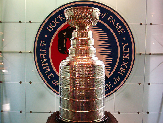Lord Stanley's Cup will be awarded to a new champion in six weeks