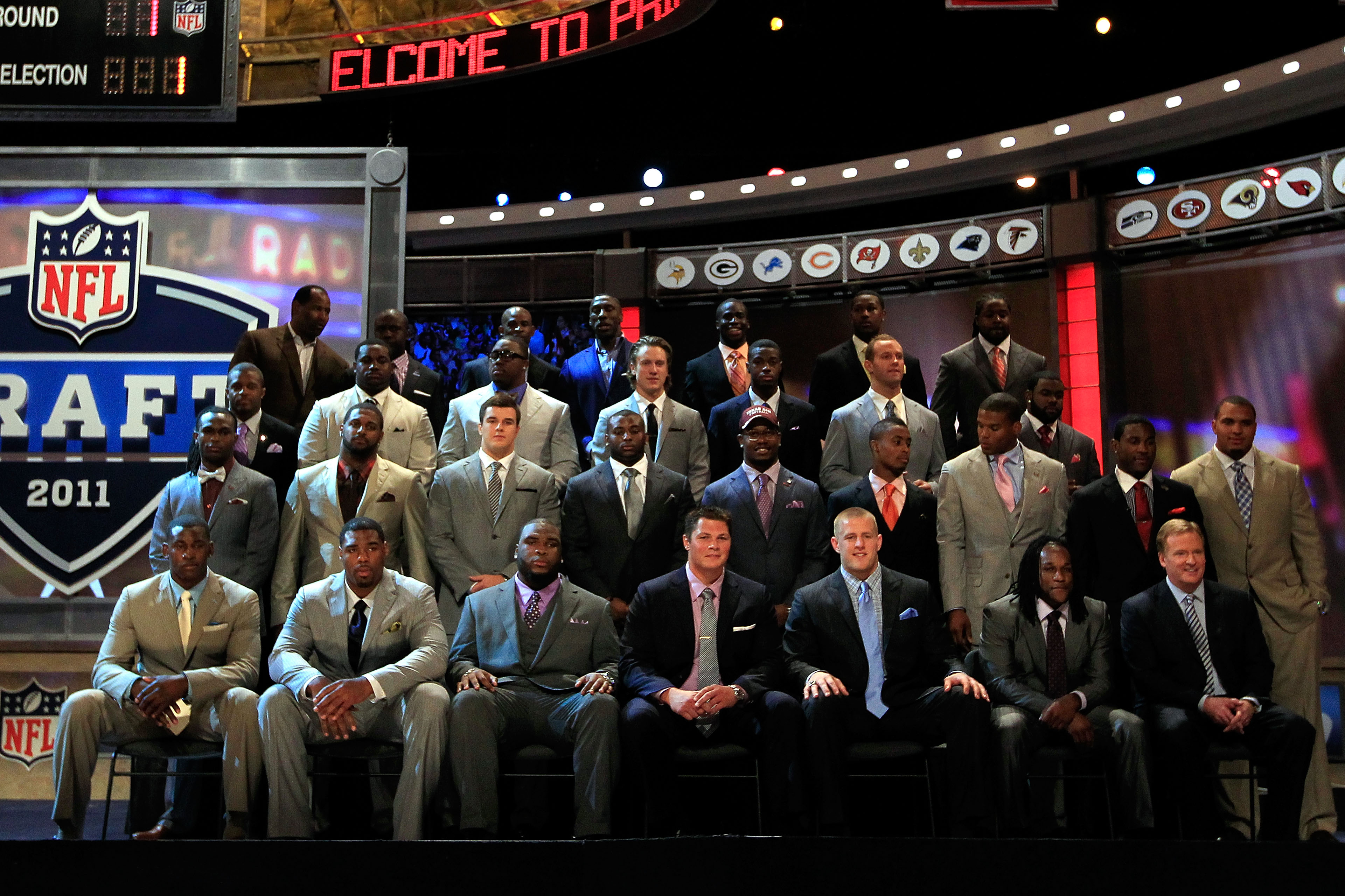 The NFL Draft: Where great and awful suits happen.
