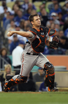 Buster Posey's cannon for an arm has would-be base stealers thinking twice