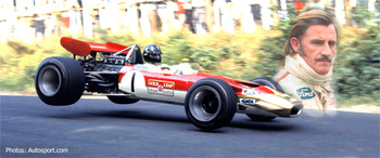 Graham Hill drove only for British teams.
