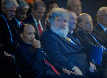 ZURICH, SWITZERLAND - DECEMBER 02:  Chuck Blazer of the FIFA Executive Committee looks on during the FIFA World Cup 2018 & 2022 Host Announcement on December 2, 2010 in Zurich, Switzerland.  (Photo by Michael Regan/Getty Images)