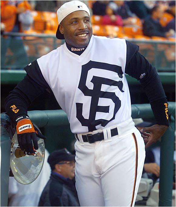 a64730cb So this is the future of Giants baseball, huh? A white vest with a poorly  centered logo and sweet black stripes on the shoulders.
