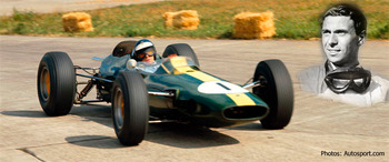 "Jim Clark was a ""natural"" and Lotus gave him great cars."