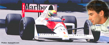 Ayrton Senna was a fast, brutal competitor.