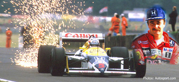 Nigel Mansell started slow in F1 and finished very, very fast.
