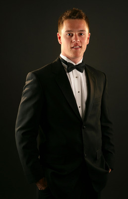 TORONTO, ON - JUNE 12:  Jonathan Toews of the Chicago Blackhawks poses for a portrait prior to the 2008 NHL Awards at the at the Elgin Theatre on June 12, 2008 in Toronto, Canada.  (Photo by Al Bello/Getty Images)