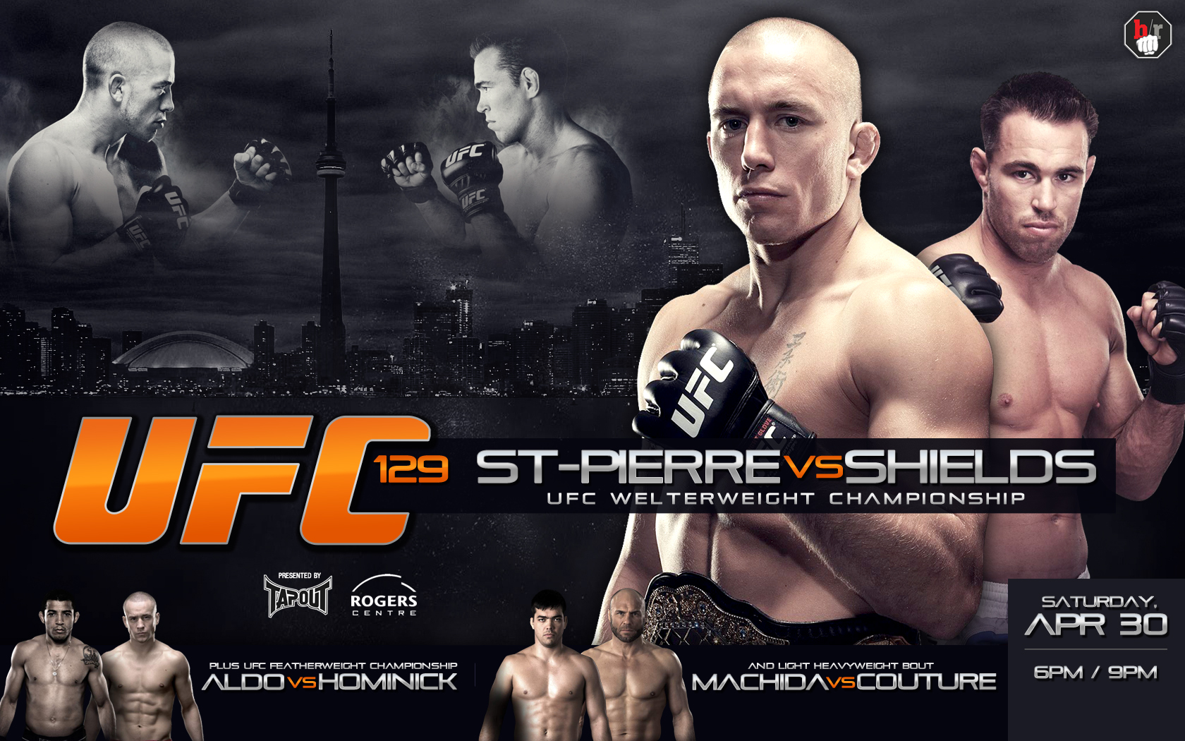 UFC 129 St-Pierre vs  Shields Theme Songs: Reviewing the