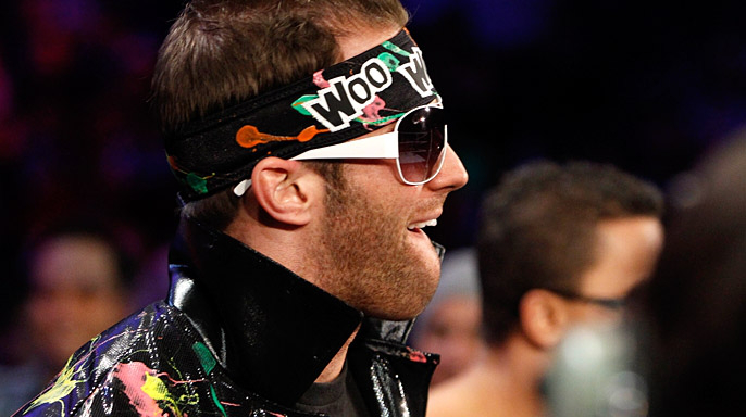 Why, why, why is this man not being featured? His wasting away on WWE Superstars is an absolute travesty.