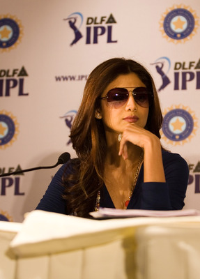 Shilpa Shetty at the auctions