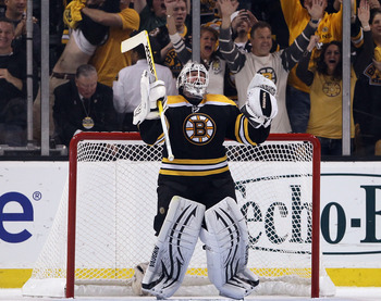 Tim Thomas will lead Boston to the Stanley Cup Finals