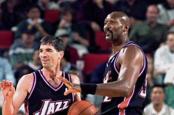 Which Player is Number 1? John Stockton or Karl Malone