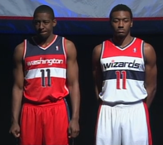fea0ea11668 Washington Wizards New Uniforms  A Quick History of Wizards Unis ...
