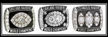There is still work to be done if the Raiders want to add to this collection.