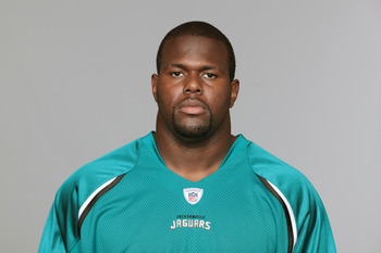 JACKSONVILLE, FL - CIRCA 2010:  In this handout photo provided by the NFL,  D'Anthony Smith of the Jacksonville Jaguars poses for his 2010 NFL headshot circa 2010 in Jacksonville, Florida. (Photo by NFL via Getty Images)