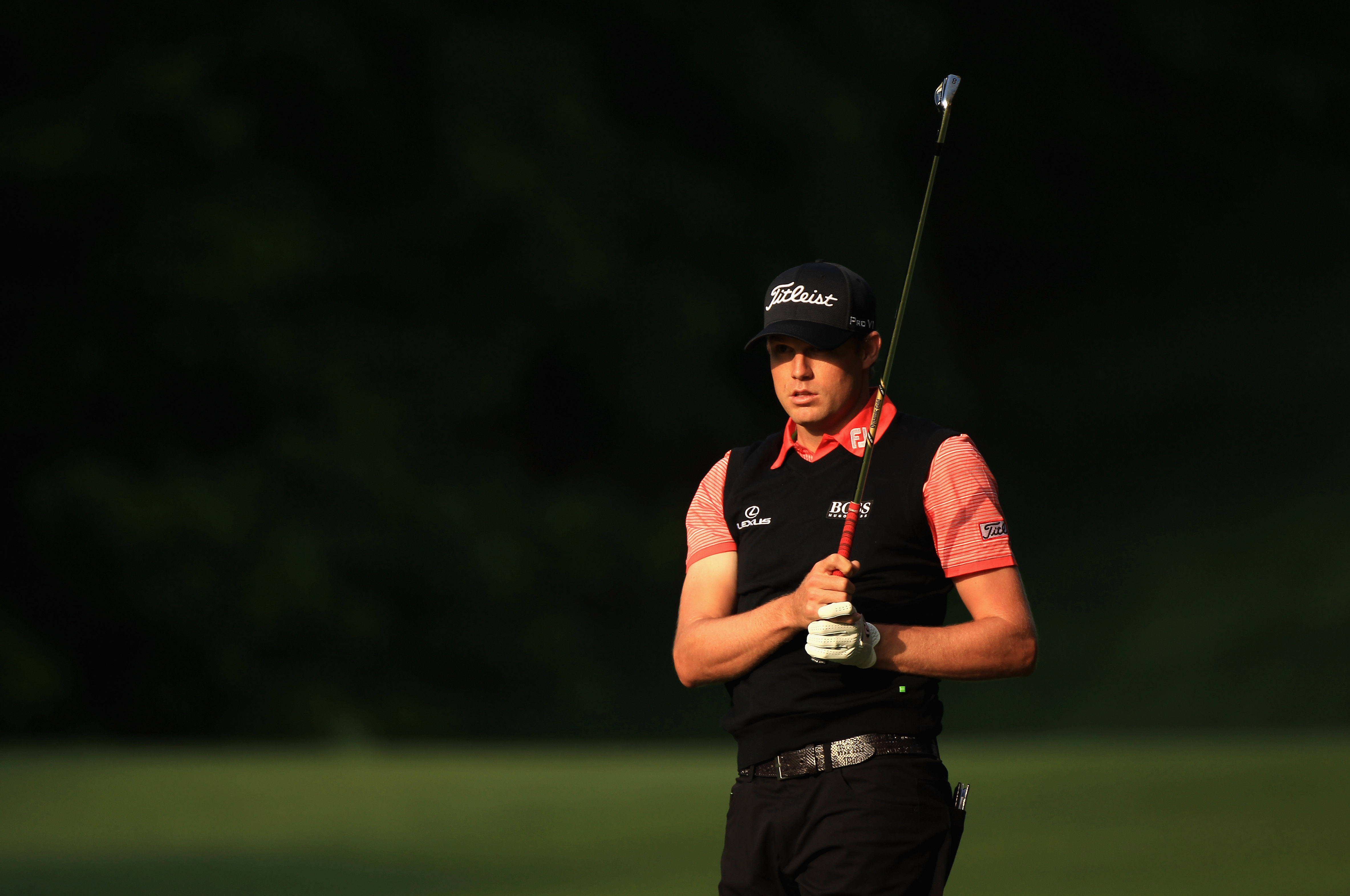 CHARLOTTE, NC - MAY 06:  Nick Watney during the second round of the Wells Fargo Championship at Quail Hollow Club on May 6, 2011 in Charlotte, North Carolina.  (Photo by Streeter Lecka/Getty Images)