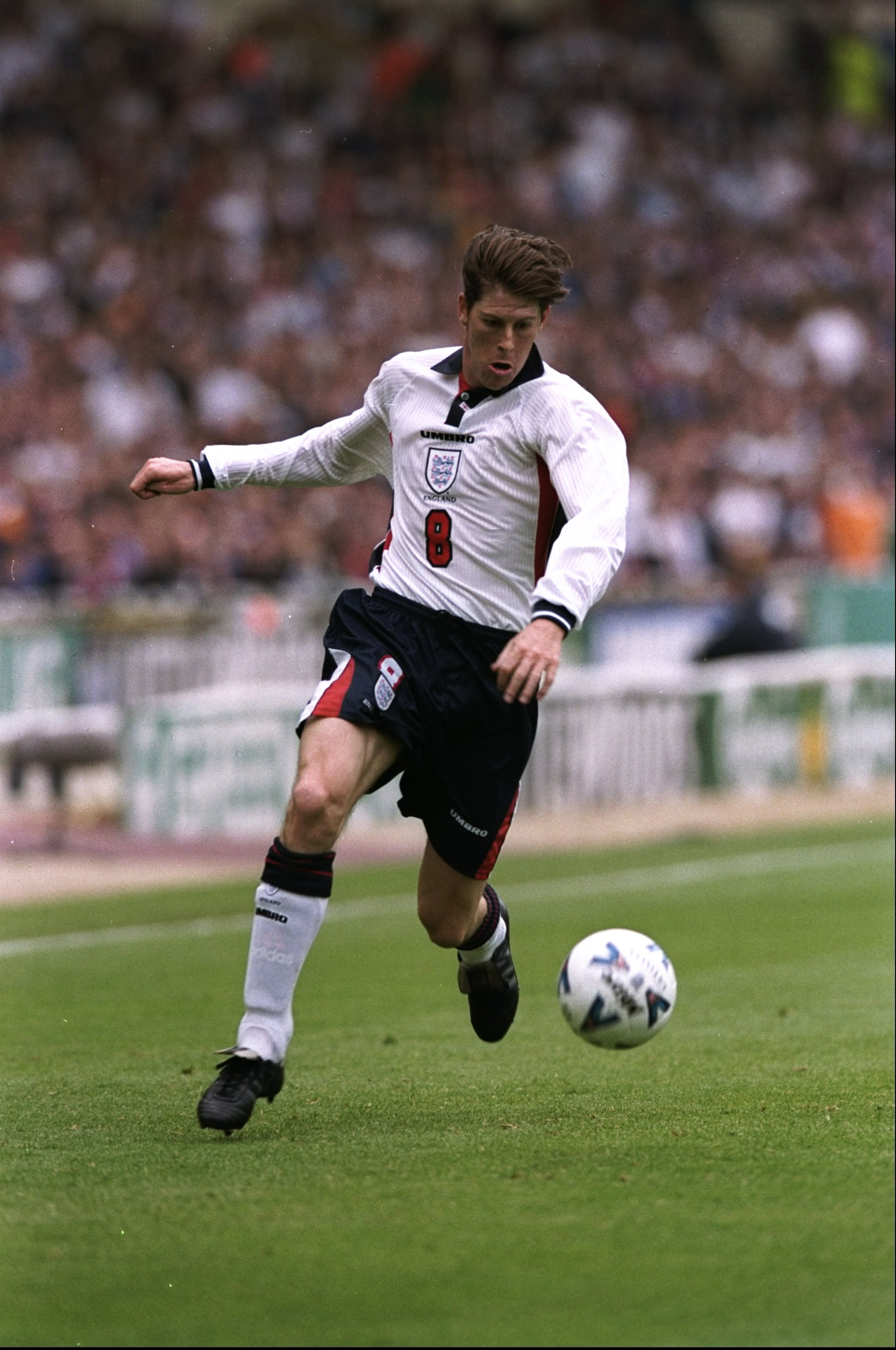 1062633ef30 23 May 1998  Darren Anderton of England in action during the International  Friendly against Saudi