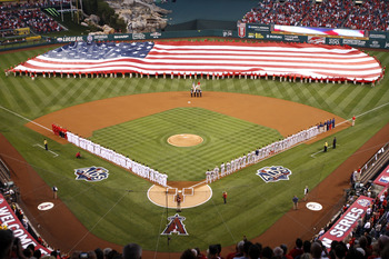 Angels Stadium Before an ALDS Game
