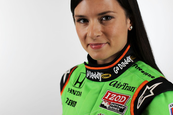 Danica  Patrick has certainly opened many eyes for younger woman to break into the auto raing world.