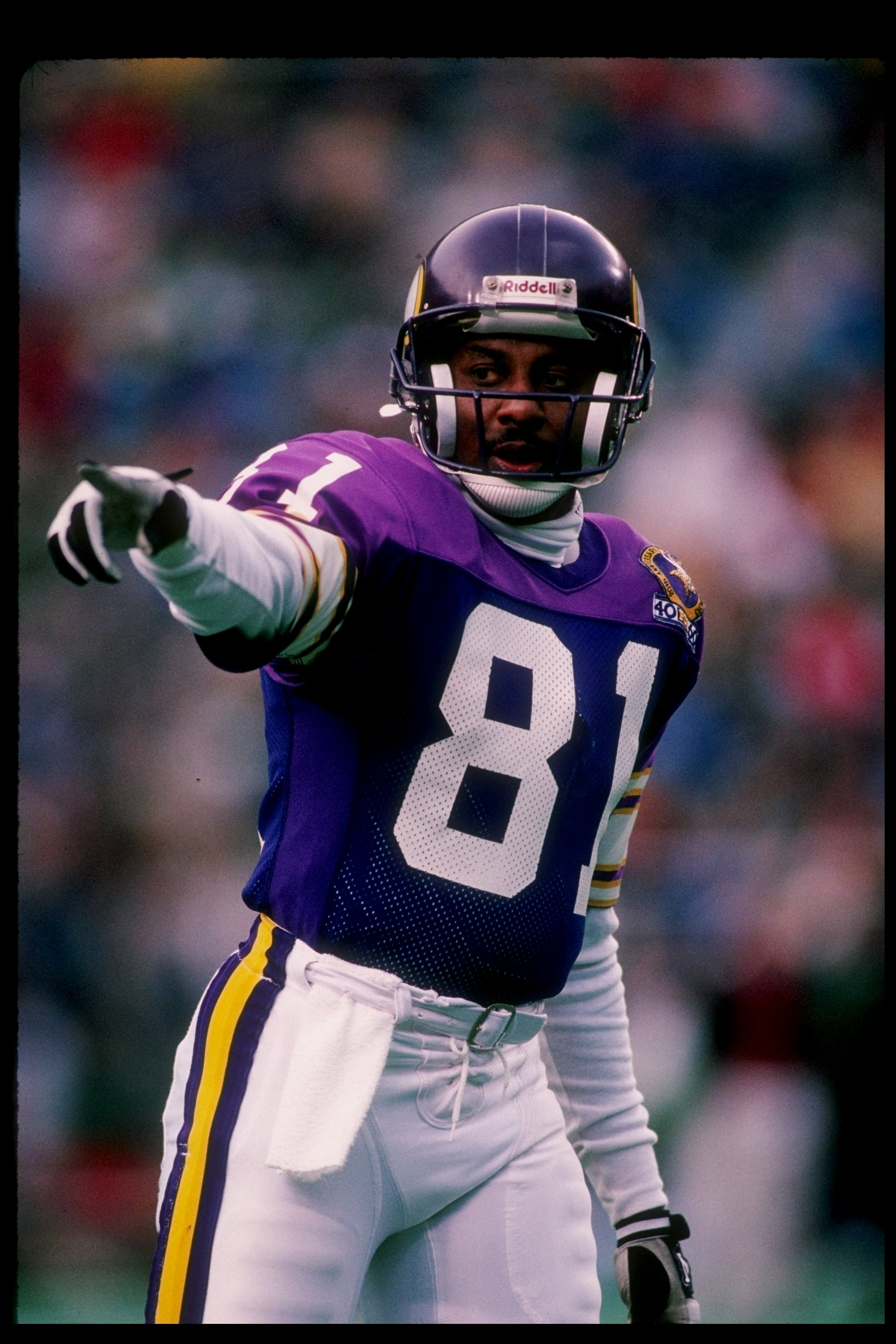 acf74ee21c9 19 Nov 1989  Wide receiver Anthony Carter of the Minnesota Vikings in  action during a