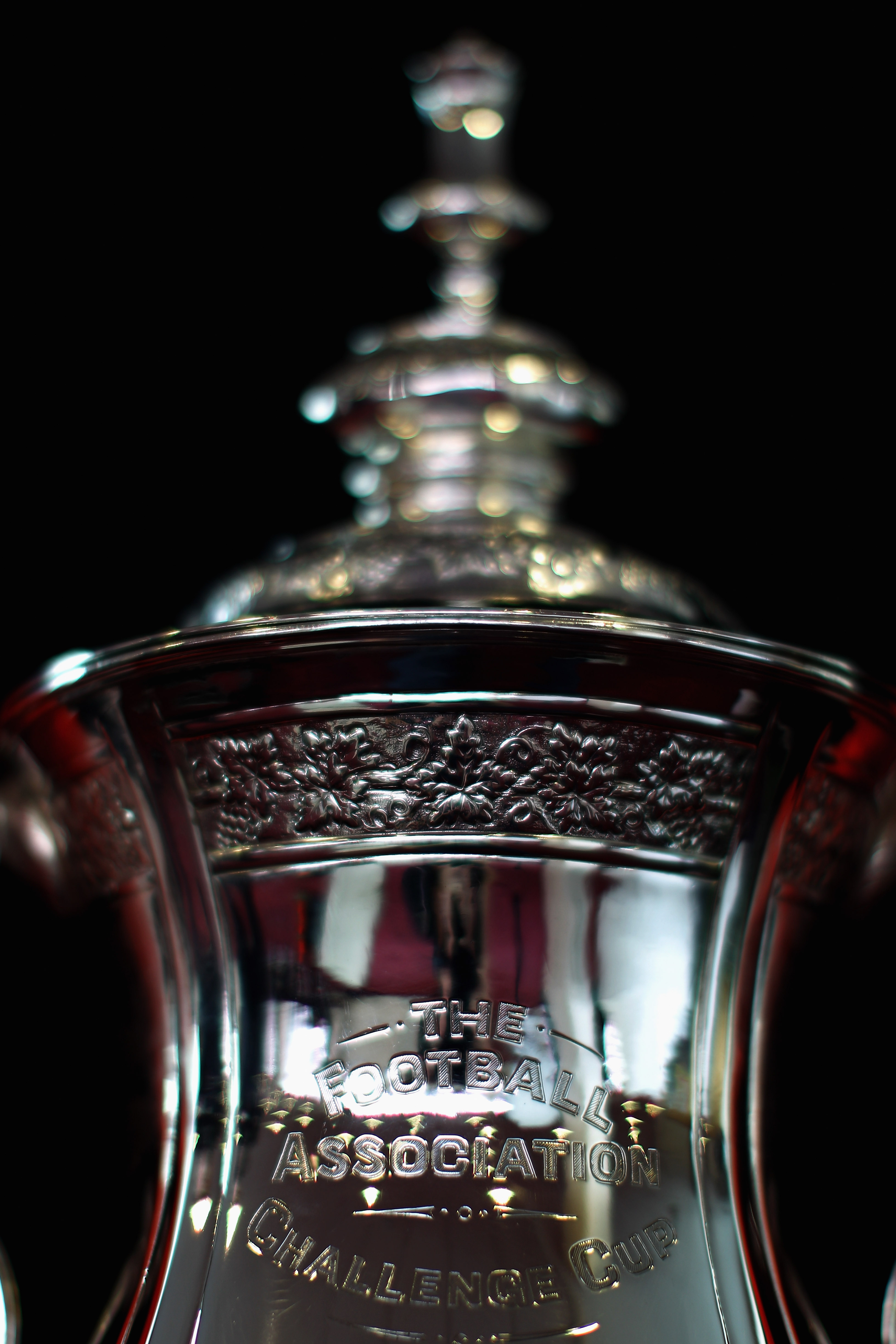 LONDON, ENGLAND - FEBRUARY 16:  A detailed view of the FA Cup sponsored by Eon at the Leyton Orient FA Cup Media Day at Matchroom Stadium on February 16, 2011 in London, England.  (Photo by Dean Mouhtaropoulos/Getty Images)